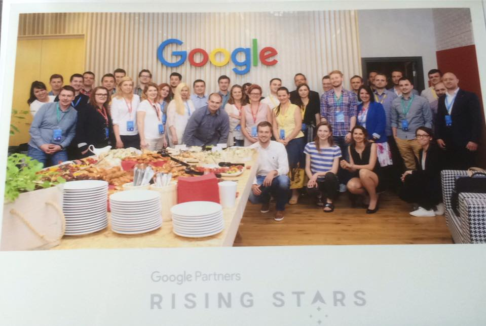 II edycja rising stars quality factor - google partners